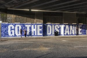 Go the distance artwork by Jessie Brennan