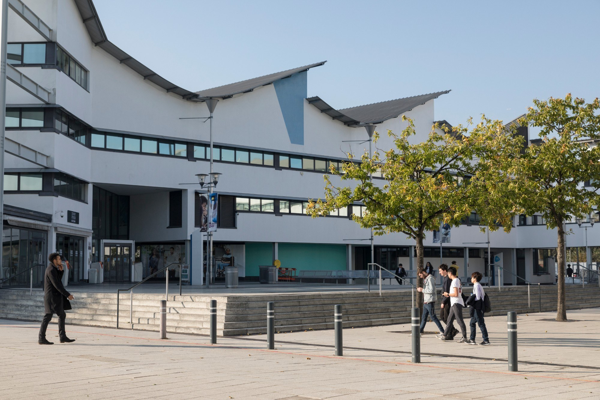 The University of East London campus