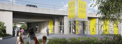 Dock studios banner