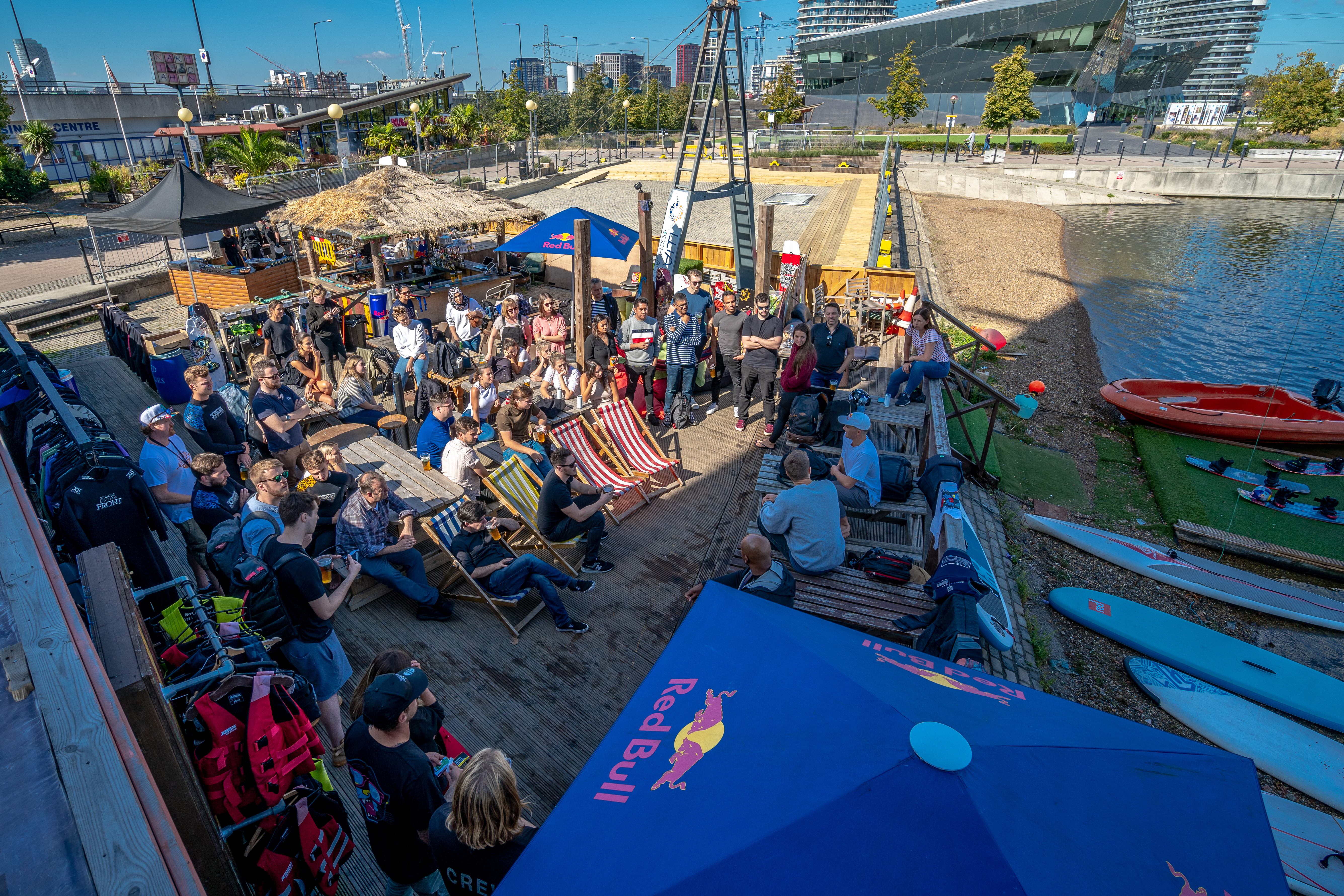 Summer event at Wakeup Docklands