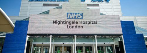 ExCeL London launches as NHS Nightingale Hospital
