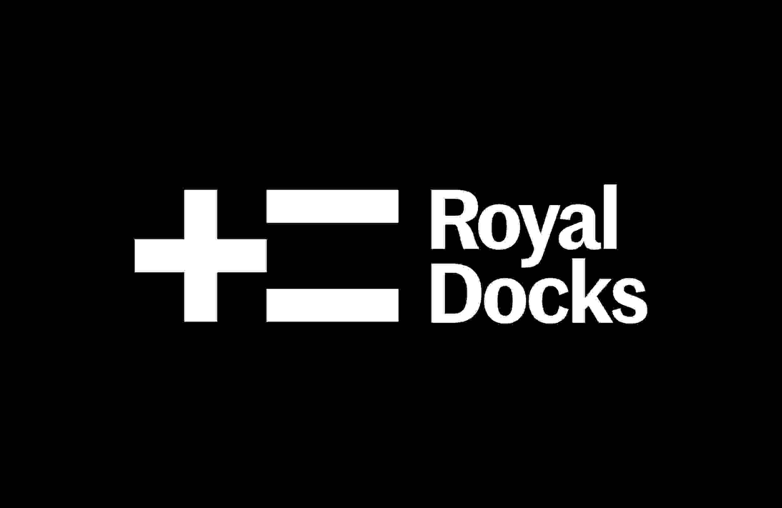The Royal Docks logo