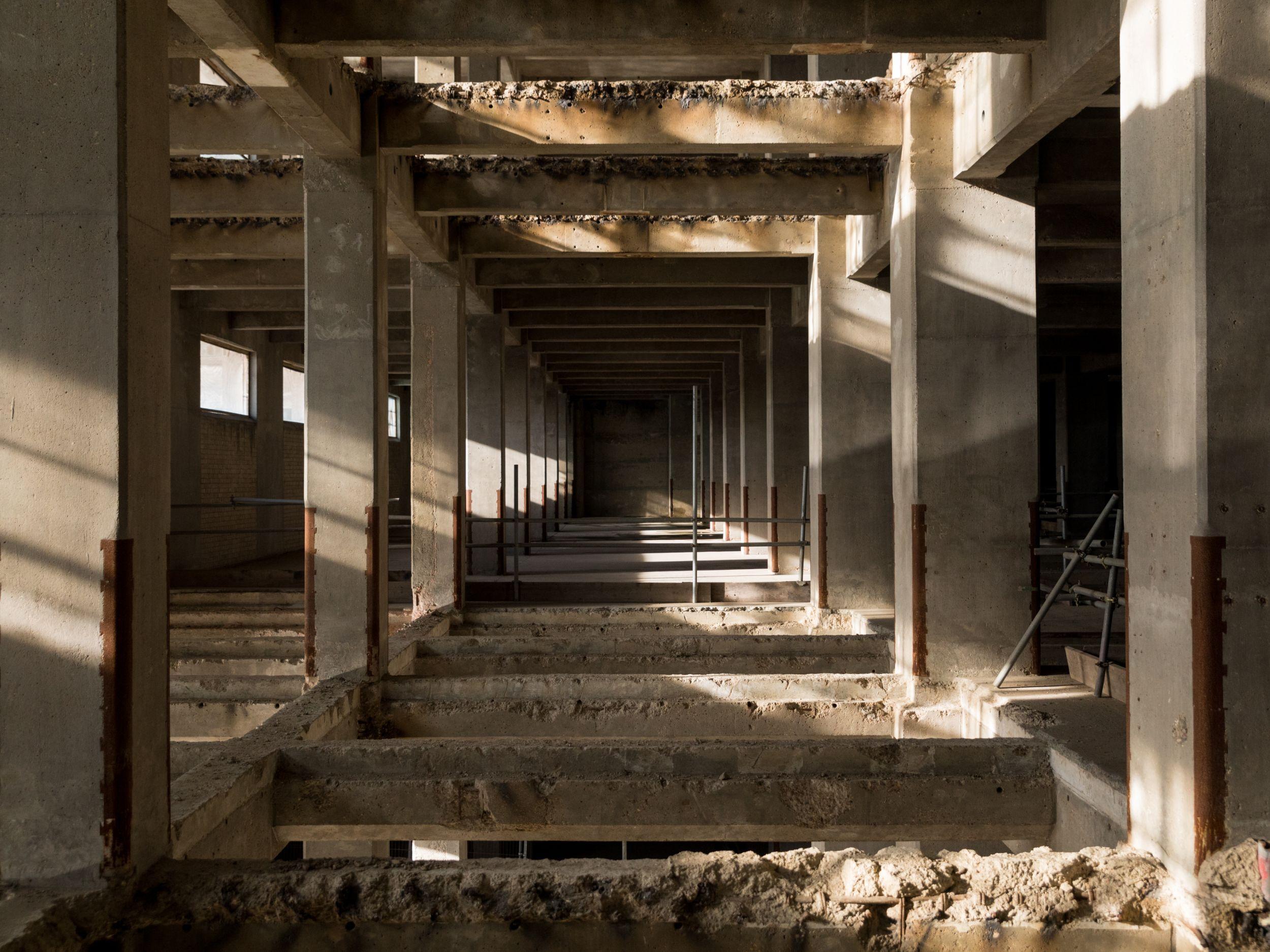 Interior photo of Millennium Mills
