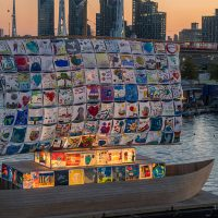 The Ship of Tolerance in Royal Victoria Dock