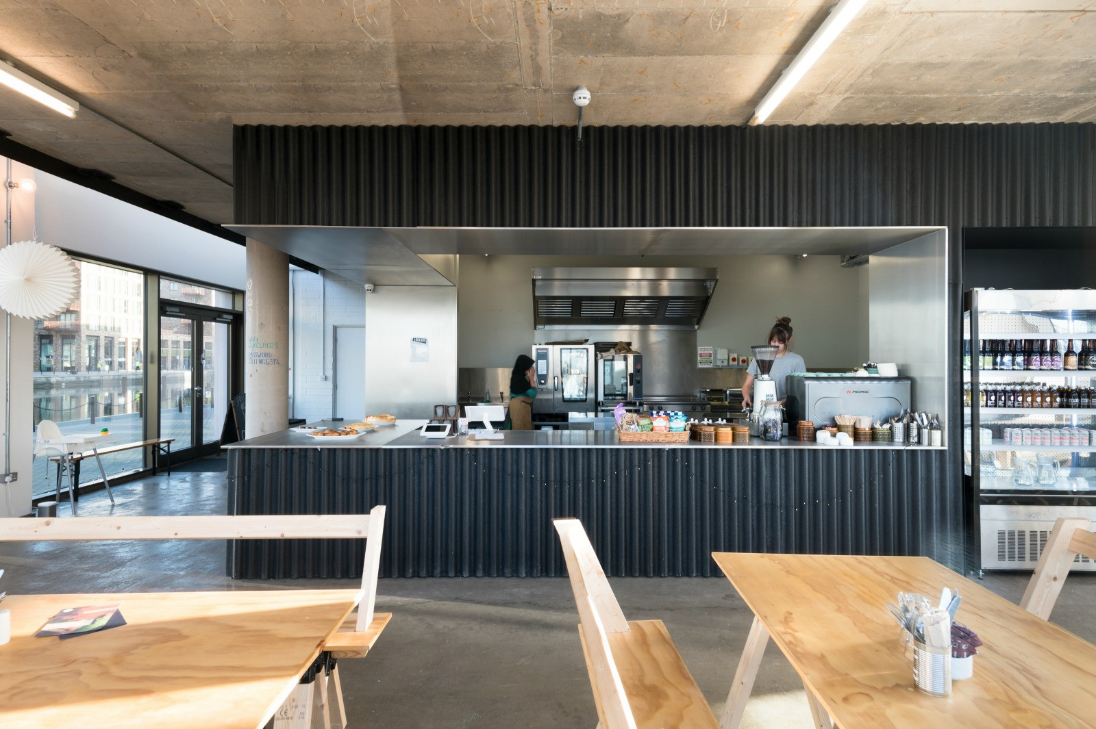 Inside the Lockside Kitchen
