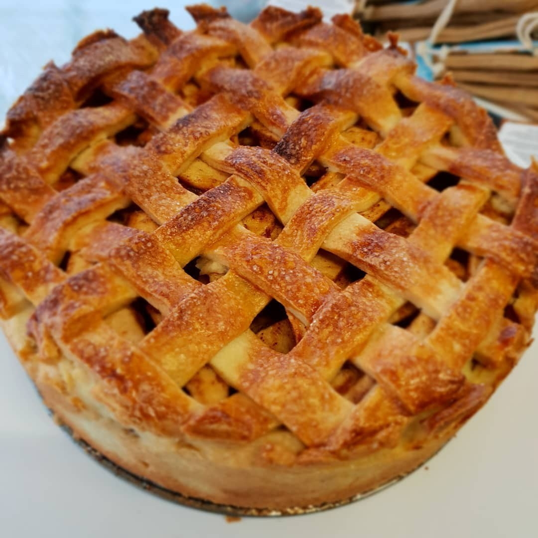 A pie from the Lockside Kitchen