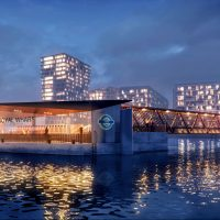 New pier at Royal Wharf will be London's longest