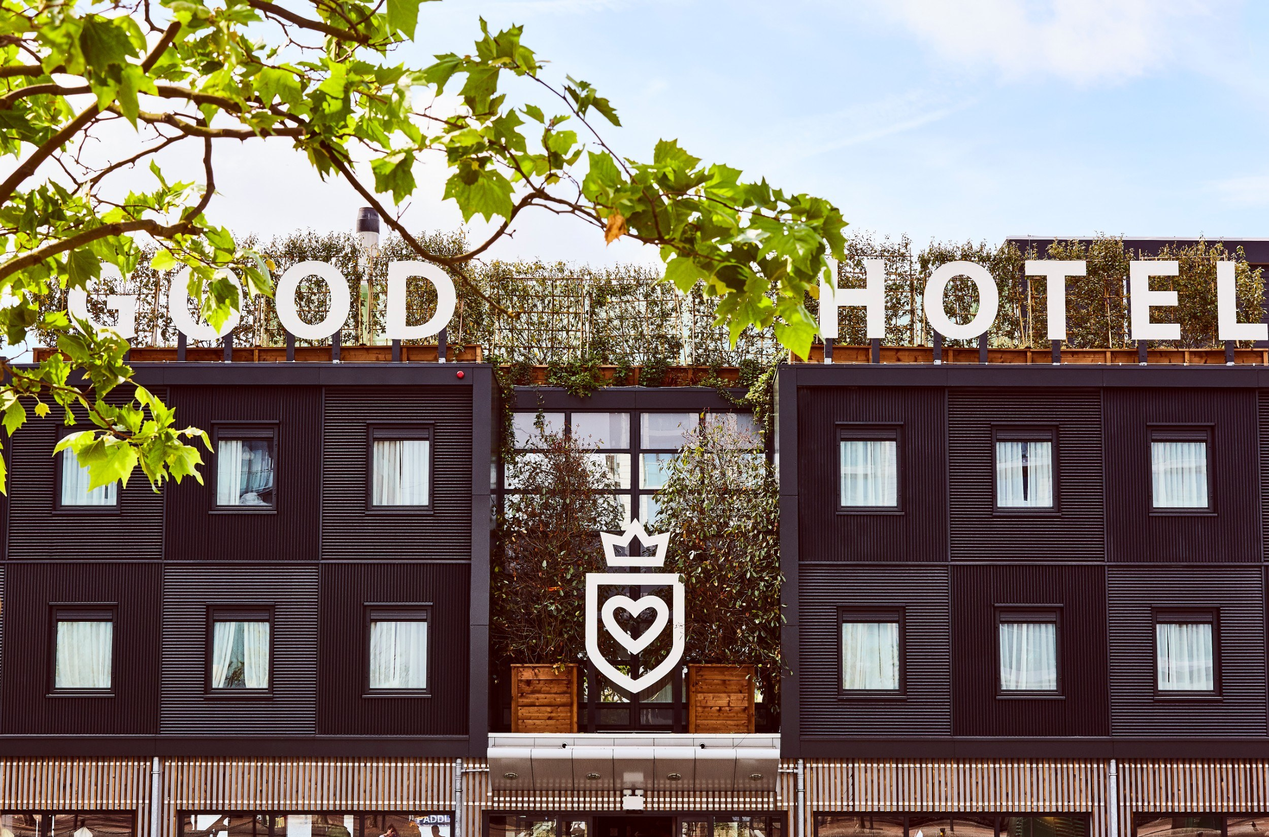 The front of the Good Hotel
