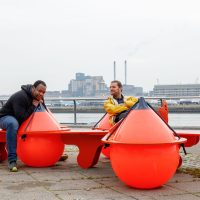 Places to perch: five new benches for the Royal Docks