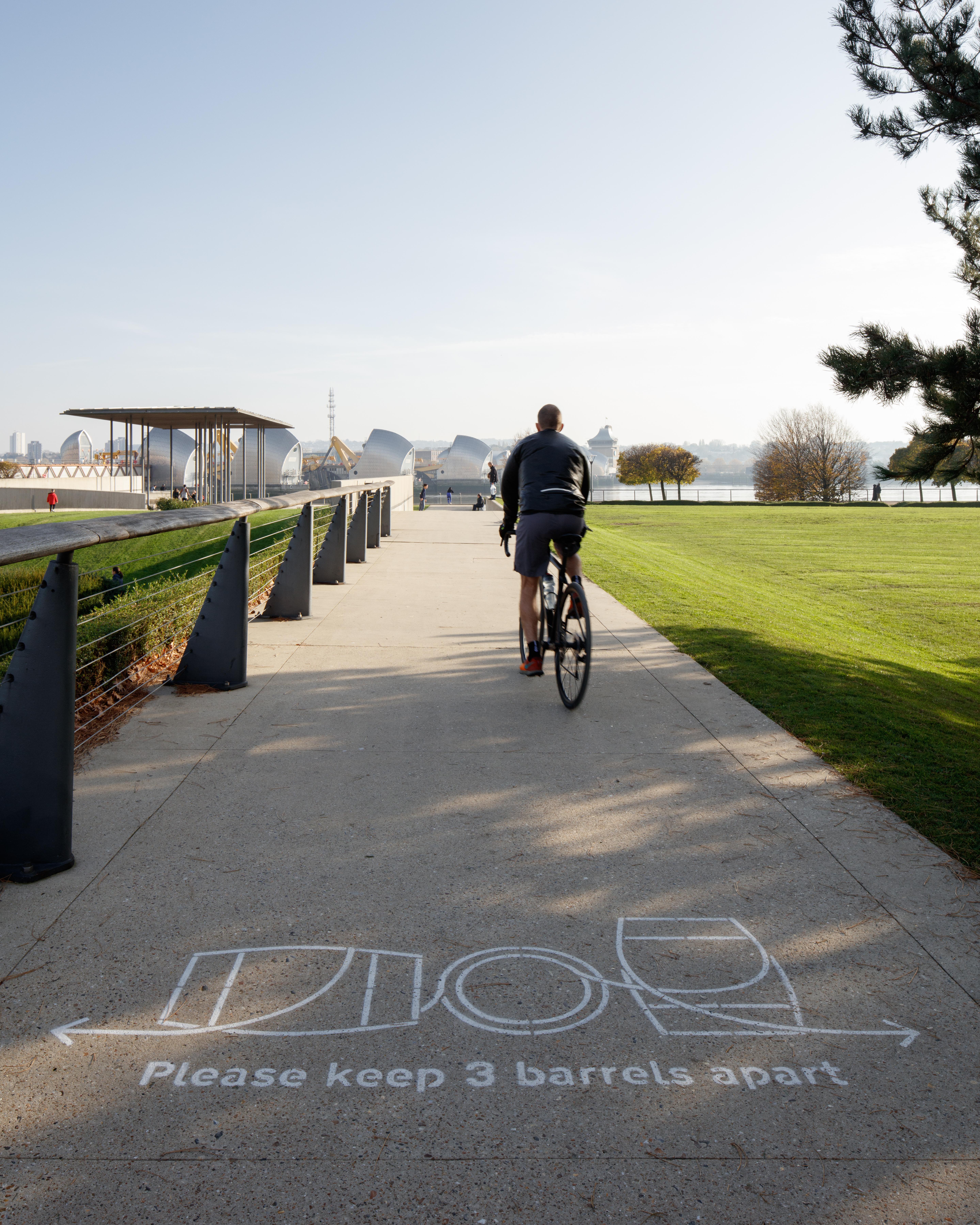 Thames Barrier Park Artwork