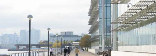 Royal Albert Dock footpath re-opens