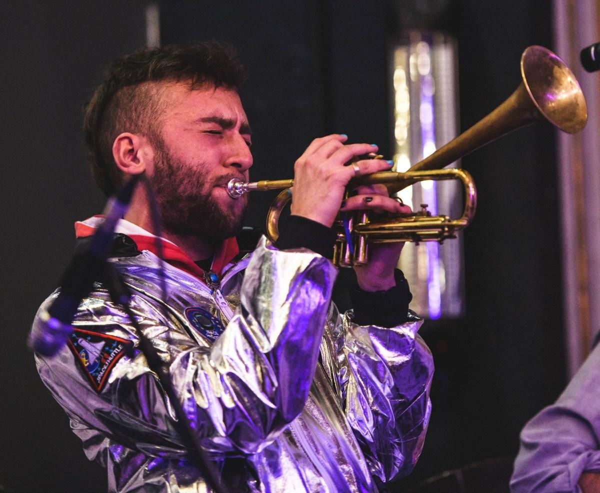 PYJAEN performing a the London Jazz Festival