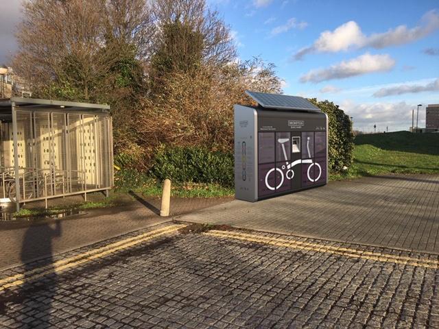 Brompton bike locker