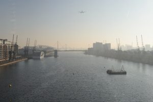 What do we know about environmental pollution around the Royal Docks?