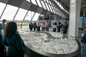 NLA Royal Docks Model and Exhibition Talks