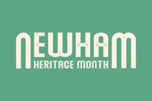 Newham Heritage Month logo