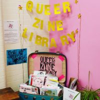 'Message in a Bottle' by Queer Zine Library and Queer Newham