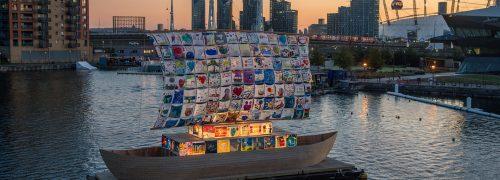The Ship of Tolerance at Royal Victoria Dock