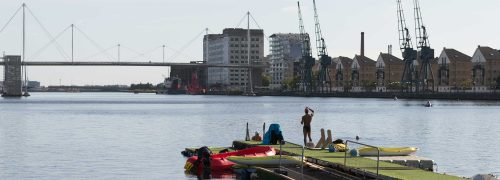 The emergence of a world-leading waterfront for London